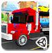 3D大卡车拖小轿车-体育小游戏