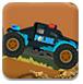 怪物警车过沙漠-体育小游戏