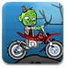 僵尸小孩骑摩托-体育小游戏