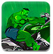 绿巨人狂暴摩托车-体育小游戏