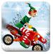 圣诞精灵雪地摩托-体育小游戏