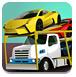 运输汽车的大卡车-体育小游戏