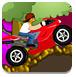 疯狂的山路摩托-体育小游戏