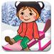 莉莉去滑雪-体育小游戏