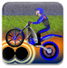 摩托技巧之黑暗森林-体育小游戏