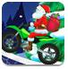 圣诞老人摩托车