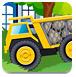 大卡车运石头-体育小游戏