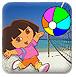 朵拉迭戈打排球-体育小游戏