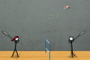 羽毛球-热门小游戏