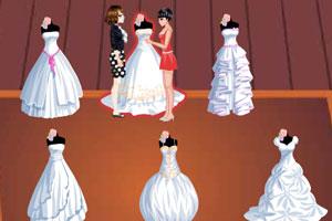 时尚婚纱专卖小游戏大全