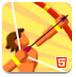 冲浪的弓箭手-射击小游戏