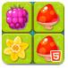 森林植物对对碰-益智小游戏