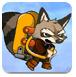 飞翔的浣熊-冒险小游戏