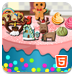 制作完美的蛋糕-休闲小游戏