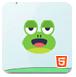 调皮青蛙打方块-敏捷小游戏