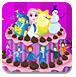 艾莎宝贝的漂亮蛋糕-休闲小游戏