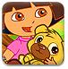 朵拉照顾熊宝宝-休闲小游戏