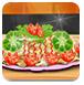 鸡肉与花椰菜的配合-休闲小游戏