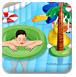 布置游泳池