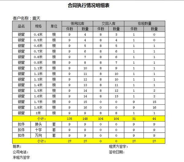 蓝宇租赁软件 6.4 免费版