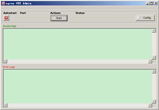 Nginx GUI Admin 1.0 绿色硬盘版