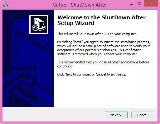 ShutDown After(shutdown 定时关机) 3.0 英文版