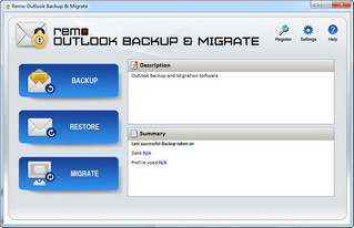 remo outlook backup migrate(outlook备份工具) 1.0 免费免会员版
