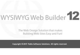 WYSIWYG Web Builder12中文版 12.4.0