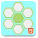 滑动六边形-益智小游戏