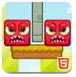 讨厌的红方块H5版-益智小游戏