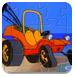 卡通极速小车拼图-益智小游戏