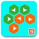 六角叠加-益智小游戏