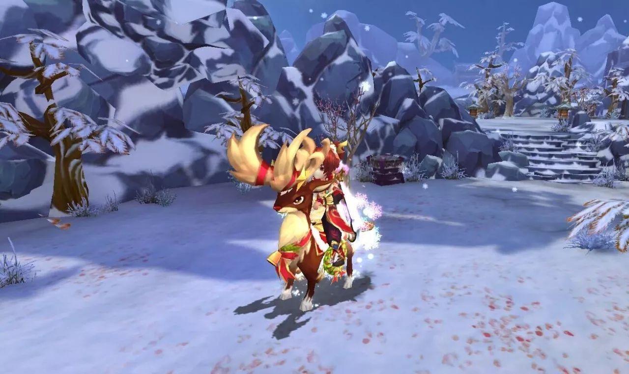 仙剑奇侠传3D回合圣诞驯鹿怎么得? 圣诞驯鹿坐骑获取及特效一览[多图]