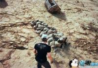 《绝地求生》金刚狼墓地彩蛋 沙漠地图发现金刚狼坟墓
