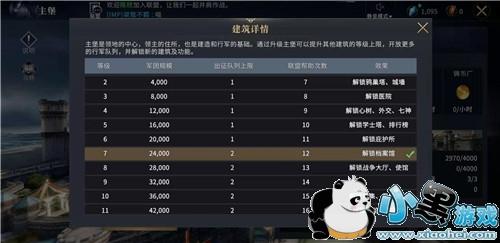 权力的游戏凛冬将至行军队列怎么增加 如何查看队列上限
