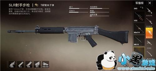 和平精英SLR射手步枪使用攻略 选好配件轻松吃鸡