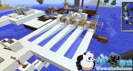 我的世界怎么做刷雪机