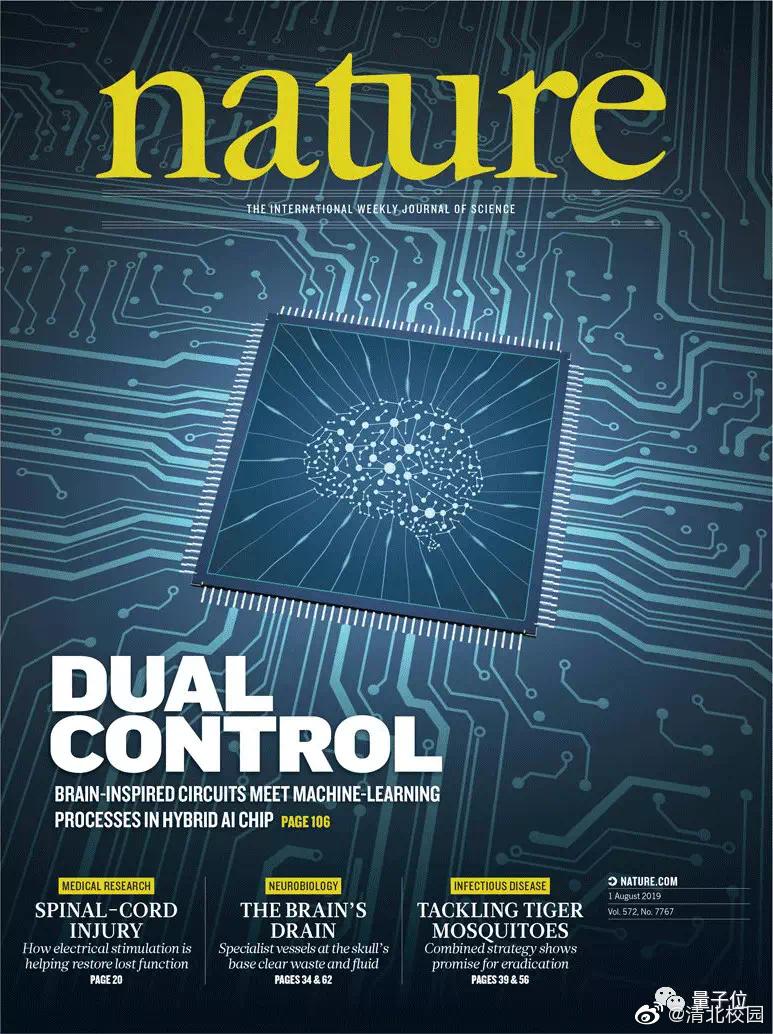 中国芯片登Nature:清华天机AI芯片登Nature封面