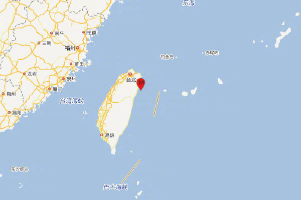 宜兰海域地震:台湾宜兰海域发生6.4级地震