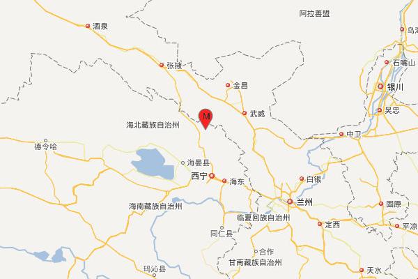 青海海北州门源县发生4.9级地震,震源深度9千米