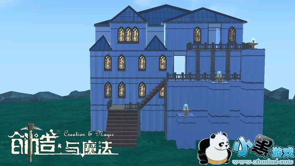 创造与魔法简约别墅平面设计图 简约别墅建筑设计图纸图片