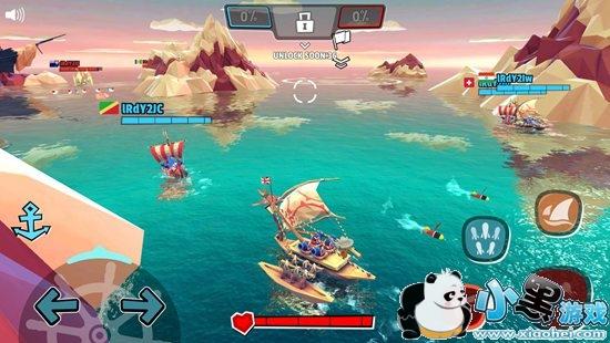海盗法则团战