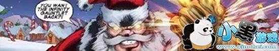 圣诞老人无限手套