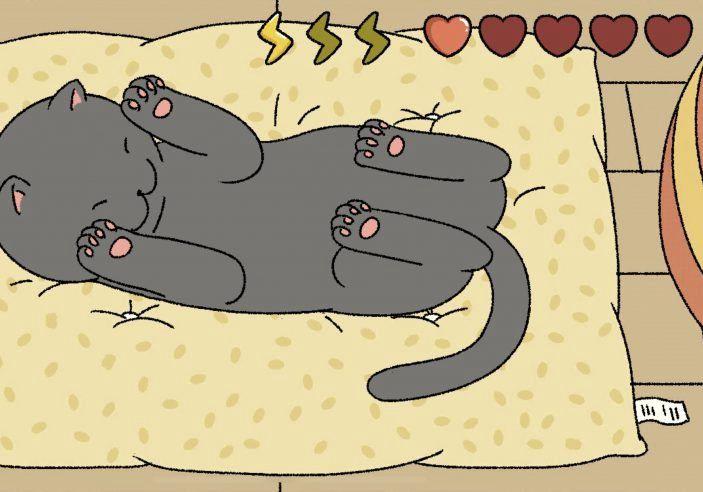 萌宅物语游戏养猫指南:抚摸、剪指甲、洗澡实操步骤