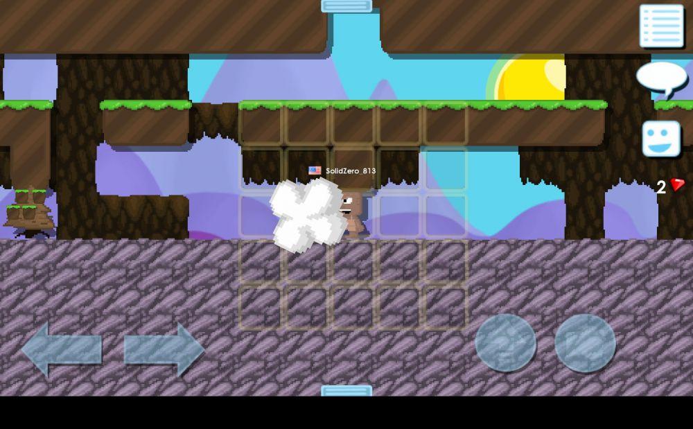 建造乌托邦(Growtopia)游戏界面